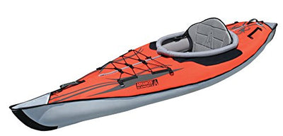 Advanced Elements Unisex Adult AdvancedFrame Kayak  - Red,