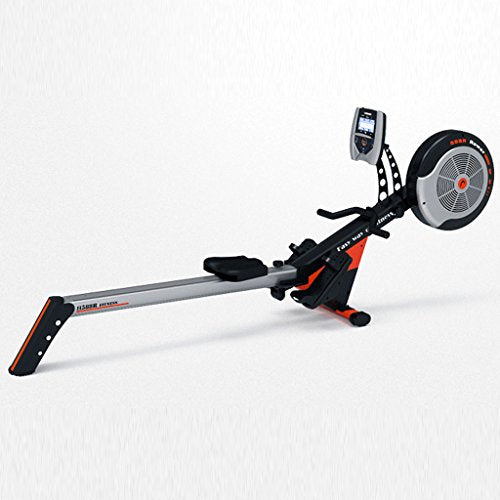 Angel Home rowing machine Rowing device,rowing machine with training computer and12resistance levels (Color : Gray)