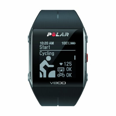 Polar V800 GPS Sports Watch with Heart Rate Monitor - Black
