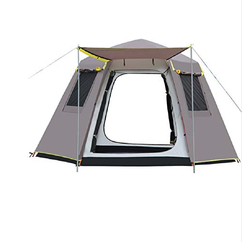 SIHAOYUAN Tent 330 * 330 * 185 Cm 5-8 Person Use Camping Tent Beach Tent Camping Party Tent B