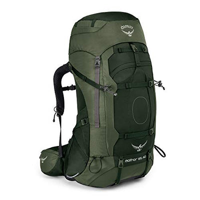 Osprey Aether AG 85 Men's Backpacking Pack -  Adirondack Green (LG)