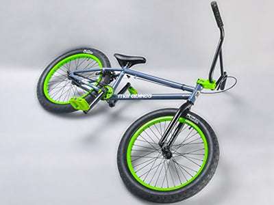 Mafiabikes Kush 2+ 20 inch BMX Bike GREY/GREEN