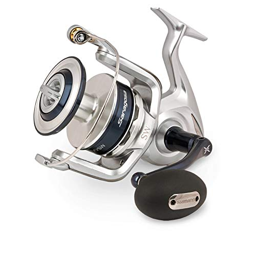 SHIMANO Saragosa SW Spinning Reel, Colour 5.6:1, Size 25000