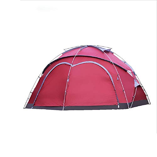 SIHAOYUAN Tent 5-8-12 Outdoor Multi-Person Large Tent Outdoor Climbing Park Fishing Yurt Canopy Tent 1Room With Big Space