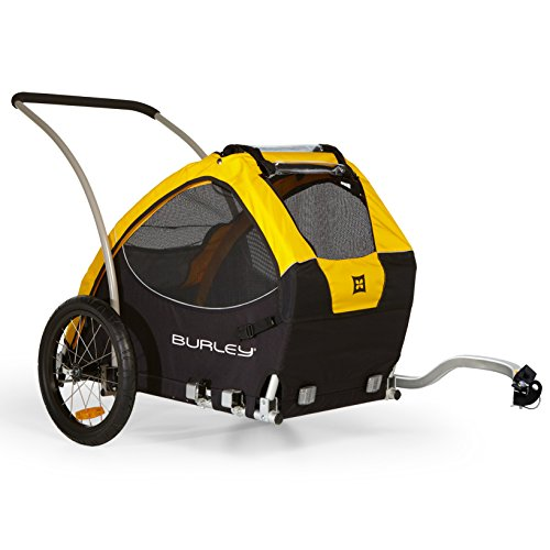 Burley Design Tail Wagon Bicycle Trailer - Yellow