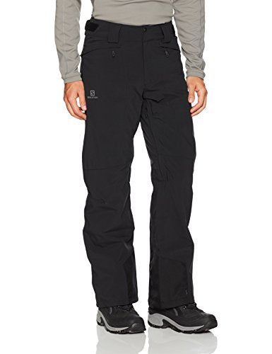 SALOMON Men's Icemania Regular Trousers, Black, Large