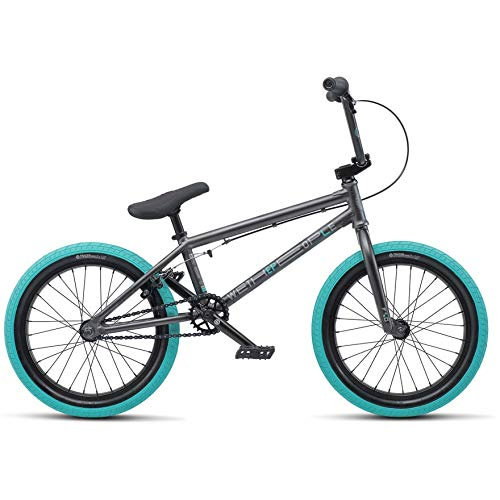 "We The People CRS BMX Bike 18"" Anthracite Grey"
