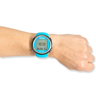 SEAC Guru Dive Computer Wrist Watch with Digital Compass, Blue