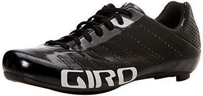 Giro Men's Empire SLX Road Cycling Shoes, Black/Silver, Size 48 48 EU