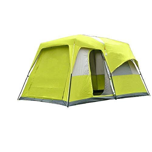 SIHAOYUAN Tent Two Bedroom 8 10 People Camping Tent Large Space Anti-Rain Double Layer Family Tent