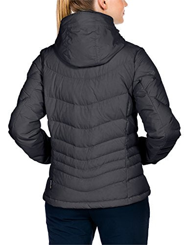 Jack Wolfskin Women's Selenium Down Jacket, Ebony, Medium