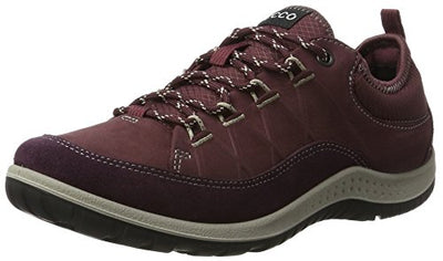 ECCO Women's Aspina Low Hiking Shoe Mauve/Bordeaux 40 M EU / 9-9.5 B(M) US 7 UK