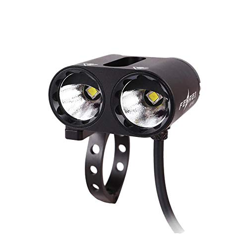 Daeou Bicycle lights Double-headed Road buggy light bike light black
