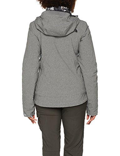 The North Face Waterproof Thermoball Triclimate Women's Outdoor 3-in-1 Jacket available in Tnf Medium Grey Heather - Medium