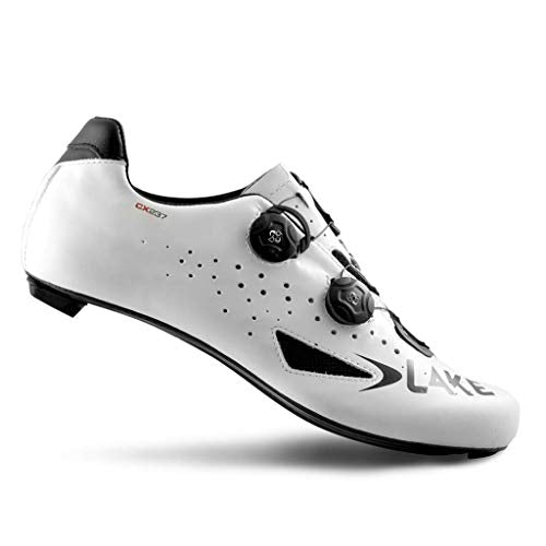 SHOE CX237 ROAD CARBON TWIN BOA WHITE