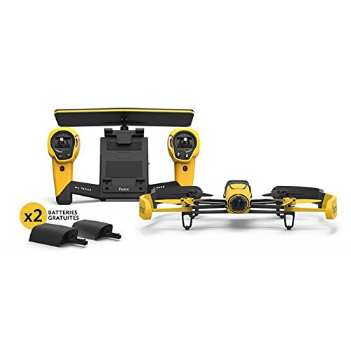 Drone and Skycontroller plus 2 Batteries yellow