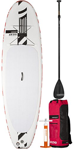 "RRD Air Evo 10'4 x 34"" x 4.75"" Inflatable Stand Up Paddle Board SUP Inc Bag, Pump, Paddle & Leash/Strap"