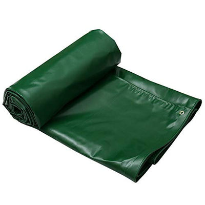 XF Thickened Waterproof Cloth Waterproof Sunscreen Outdoor Shelter Tarpaulin Awning Cloth Truck Tarpaulin Tarpaulin Canvas Large Size Outdoor camping equipment (Size : 6mX4m)