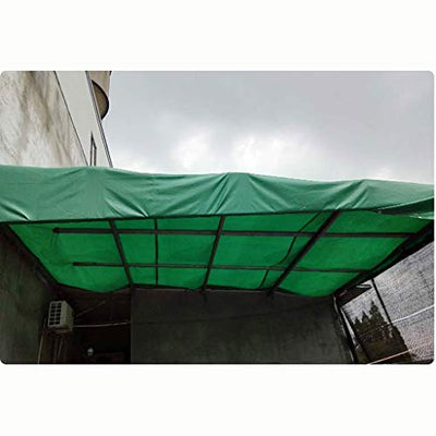 FJZ Waterproof Cloth Waterproof Sunscreen Thickening Tarpaulin Car Truck Sunshade Canvas Thick Waterproof Cloth Outdoor Sunscreen Awning Cloth (Size : 580 * 980cm)