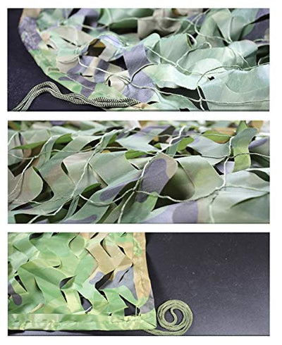 JJWZW Camo Netting for Kids, 5x3m Army Large Oxford Cloth Camouflage Net/Camping Camouflage Net Suitable For Hunting Hidden Party Decoration for outdoor Garden Shade Photography (Size : 10 * 25m)