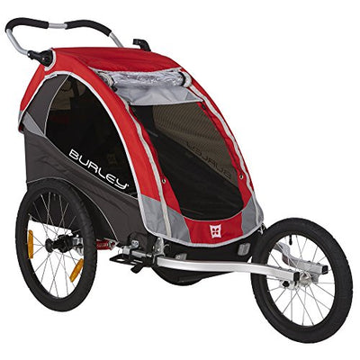 Burley Unisex MY16 1-Seater Bike, Solo Red