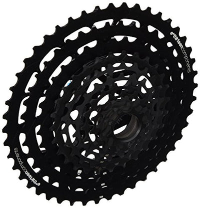 e.13 E13 fw1tra-100 Unisex Adult Bicycle Cassette, Black