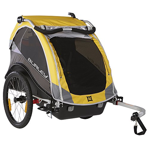 Burley Unisex Adult Cub Bicycle Carrier - Yellow, N/A