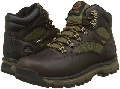 Timberland Men's Chocorua Trail Goretex Waterproof Chukka Boots, (Dark Brown/Green A66), 13.5 UK