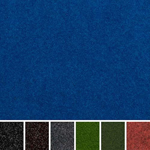 "247 Floors Blue Outdoor Carpet | Waterproof | Stain & UV Resistant | Gardens Balconies Exhibitions | Pet & Child Friendly (Blue, 8m x 4m / 26ft 3"" x 13ft 1"")"