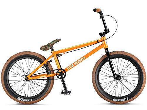 Mafiabikes Kush 2+ 20 inch BMX Bike Orange