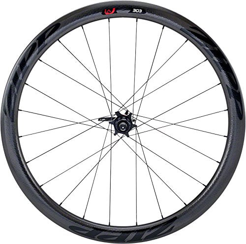 Zipp 303 Carbon Clincher Tubeless Disc Brake Rear Wheel, 700c, 12 x 135/142mm, XDR Cassette Body, 177D, A1, Black Decal