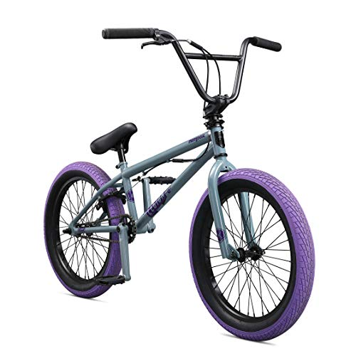 "Mongoose Legion L40 20"" Freestyle BMX Bike, Grey"