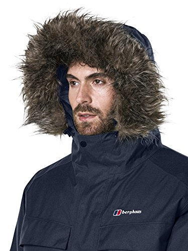 Berghaus Waterproof Hudsonian Men's Outdoor Parka Down Jacket available in Dusk - Large