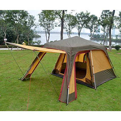 Chengleilei Suitable For Outdoor Or Family Camping Trip - Proof Telescopic Tent. (Size : 3-4P)