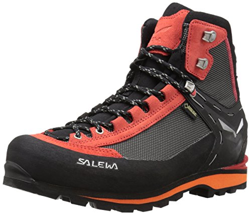 Salewa Men's Ms Crow GTX High Rise Hiking Shoes, (Black/Papavero 935), 11 UK
