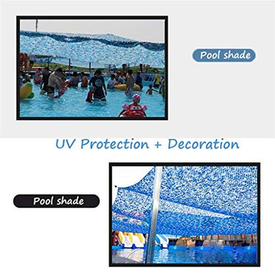 LIYIN-Shade Sails Camouflage Sunscreen Insulation Net,Sunshade Net, Oxford Cloth Jungle Hidden Net for Balcony, Garden, Lightweight Great for Hunting,Sunshade Camping,Shooting