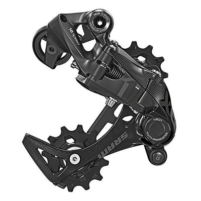 Sram MTB X01 DH Rear Derailleur Type 2.1 Technology 10 Speed - Medium Cage, Black