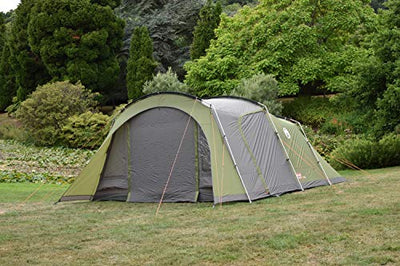 Coleman Da Gama Outdoor Tunnel Tent available in Green - 4 Persons