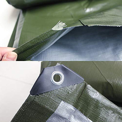 CL- tarpaulin Thicken poncho truck tricycle sunscreen awning tarpaulin plastic shade cloth tarpaulin suitable for dock warehouse trucks, etc, green, 21 sizes *@* (Size : 8mX12m)