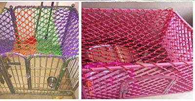 Green outdoor fence net child protection net, stair balcony anti-fall net climbing nylon net color decorative net wear-resistant anti-corrosion applies to stairs, balcony, ceiling, suspension bridge,