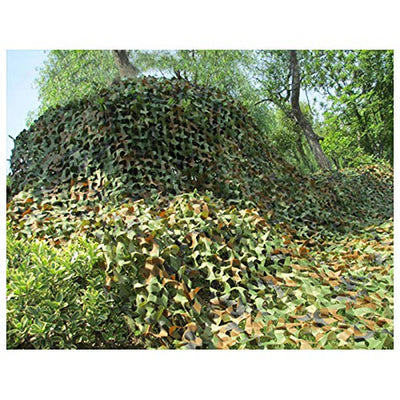 Camouflage net Camouflage net Outdoor camouflage net Can be used for camping tent camouflage visor bird watching wildlife shooting hidden Halloween Christmas party decoration