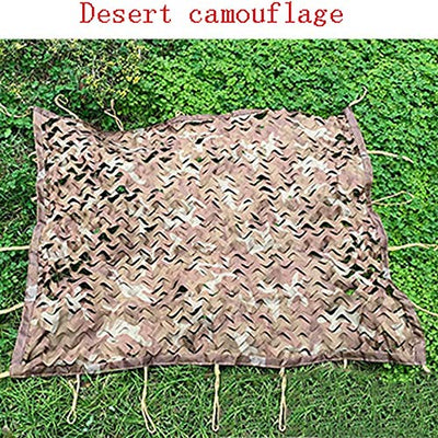 Cvnvbb Camouflage Net Sunshade Net Sun Net Awning Oxford Cloth Camping Tent, Children's Study Building Garden Balcony Privacy Sunshade Hidden Photography Hunting Shooting (multiple