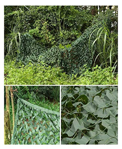 Camo Netting Camouflage Net/Sunscreen Sunshade Camouflage Net/Suitable For Jungle Buildings Anti-satellite Aerial Photography Sunshade Camping (Size : 10 * 20m)