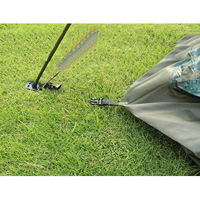 GZW001 Outdoor camping automatic camouflage tent, camping 3-4 people tent, moisture pad, three inflatable cushions, three sleeping bag waterproof tent