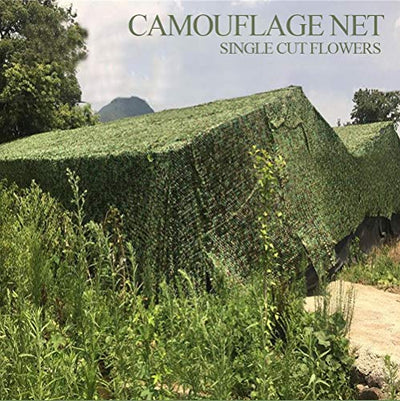 Camo Sunscreen Mesh,Camouflage Net Blinds Shade Netting Awning Cover Tent,for Camping Shooting Hunting Child Outdoor Activity Animals Photography Military Army Decoration Beach Fishing Feet ft,Green