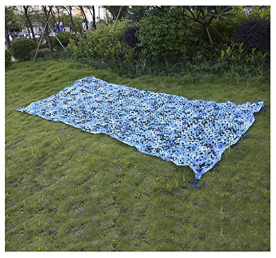 JJWZW Shading net camouflage netting Camouflage net Oxford cloth ocean for Halloween outdoor woodland camping protective shooting hidden / 2m 3m 10m for outdoor shade gardens (Size : 10m*20m)