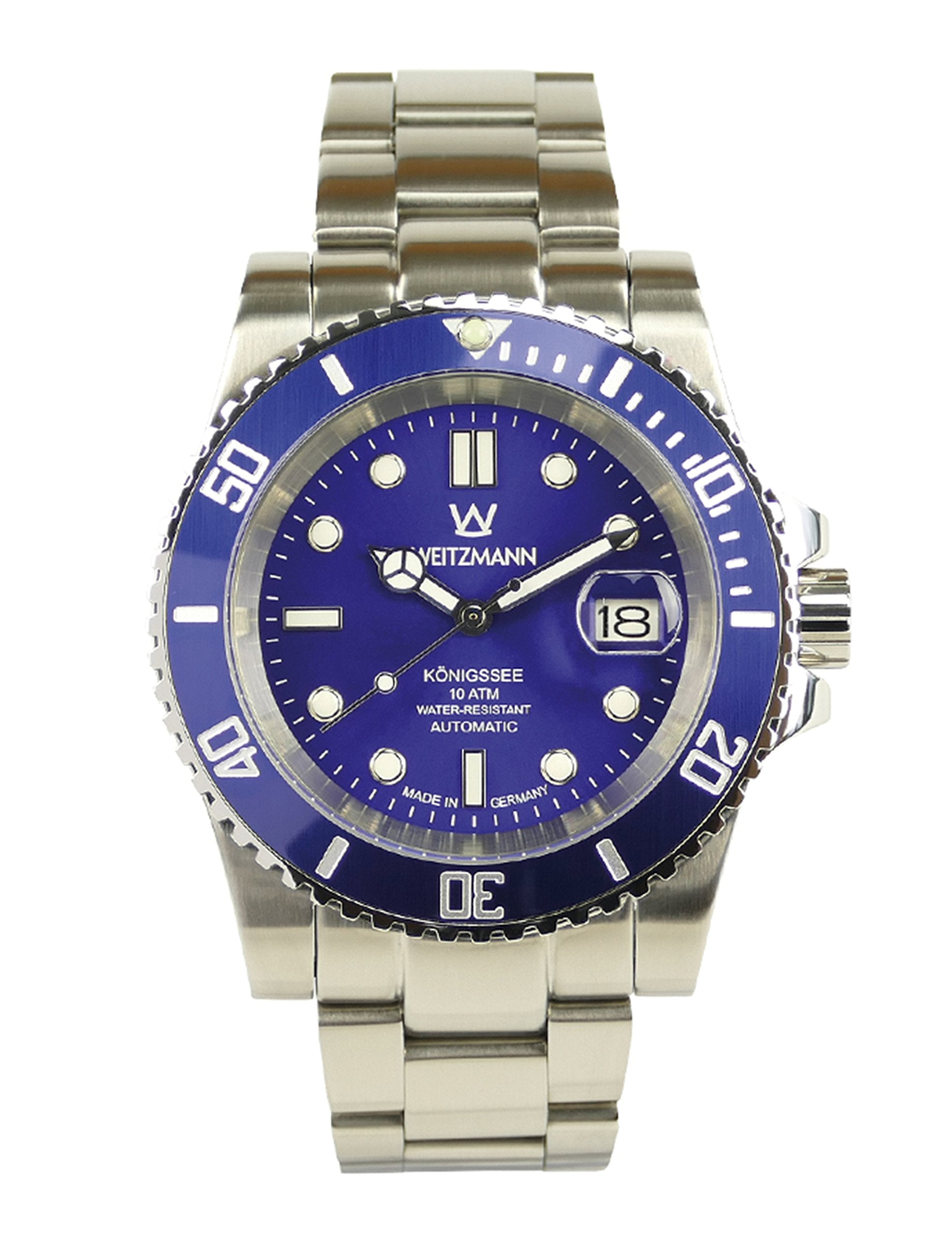 'Weitz Automatic Watch Kings Lake - Men's Blue