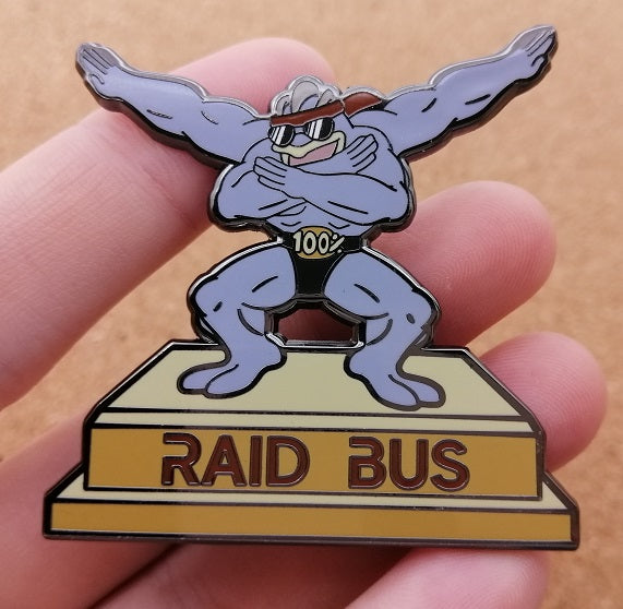 100% Machamp Pin