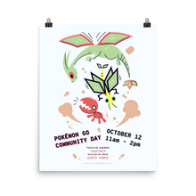 Load image into Gallery viewer, Trapinch Community Day Poster by HigherFructose