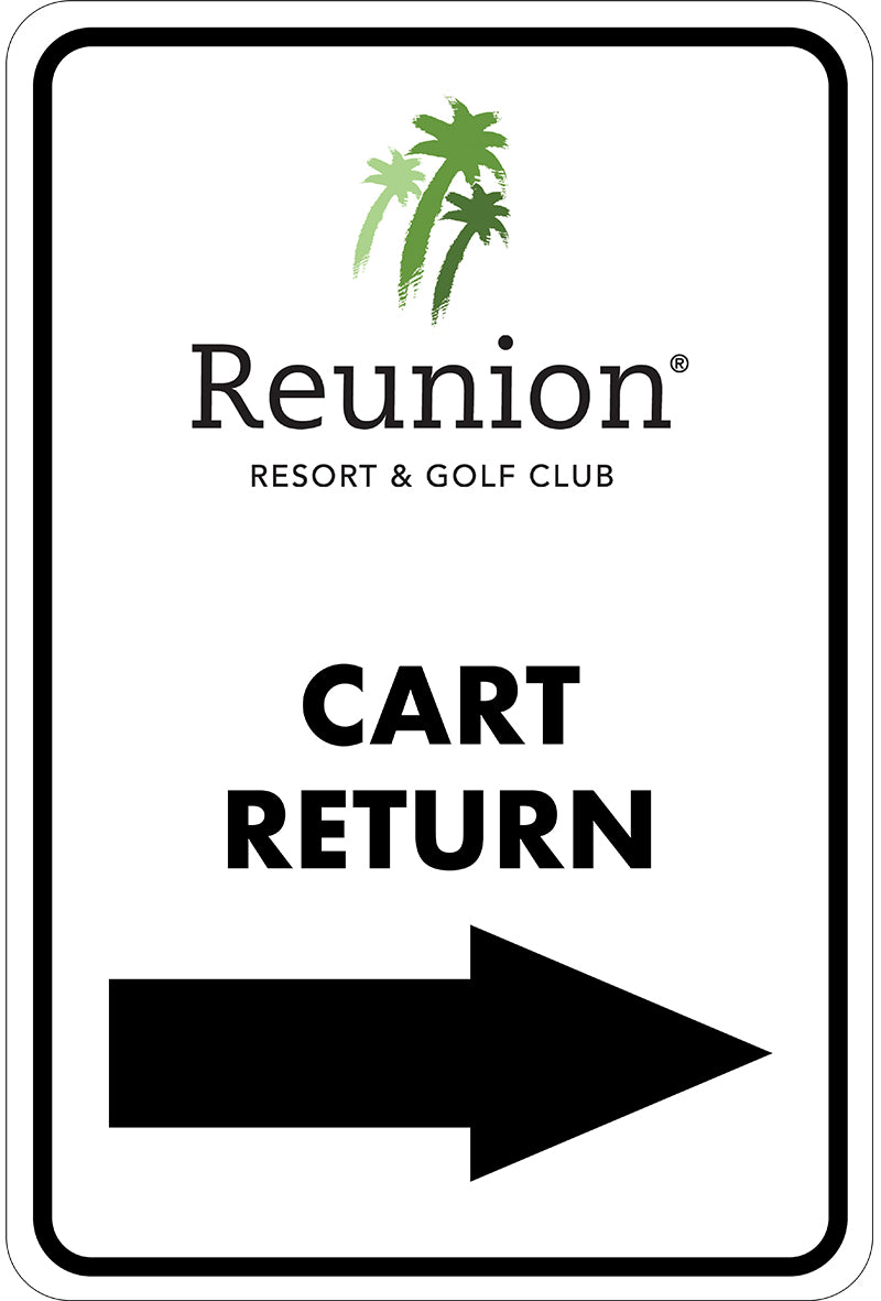 Cart Return Directional